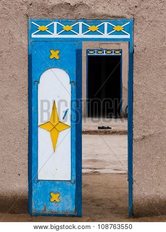 Door In A Door In Merzouga