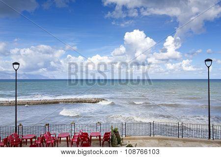 Sicilian Coastline In The Morning