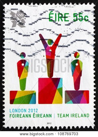 Postage Stamp Ireland 2012 Victory Ceremony