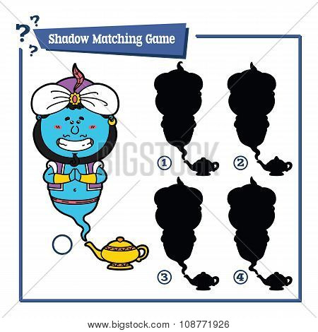 funny shadow Genie game.