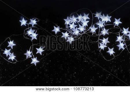 Stars On The Night Clear Sky