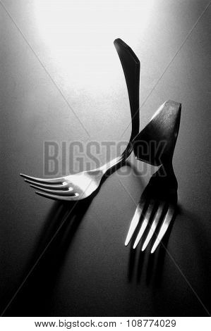 Bent Forks