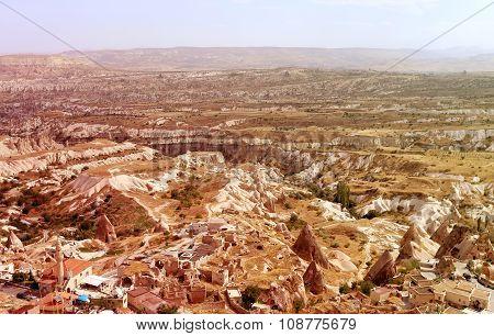 Cappadocia In Turkey To Goreme
