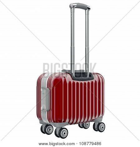 Small red luggage