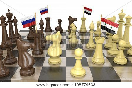Russia and Syria foreign policy strategy and power struggle