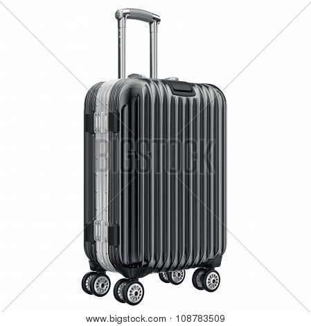 Big black luggage
