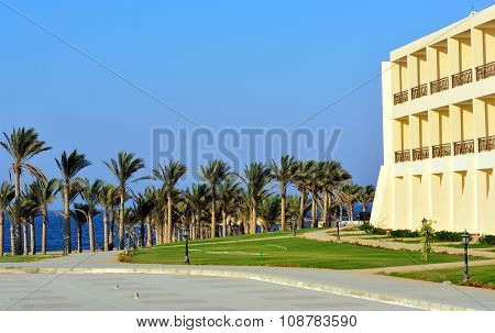 quaint village in Marsa Alam