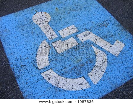 Distressed Handicapped Parking