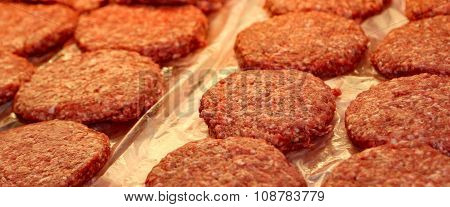 Beef Burger For Sale By The Butcher