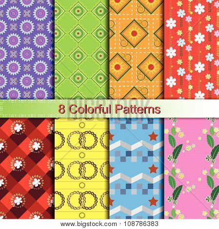 Colorful Stylish Pattern Collection