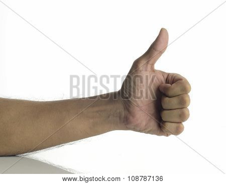 Thumbs Up - Human Hand