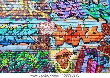 Tags mural
