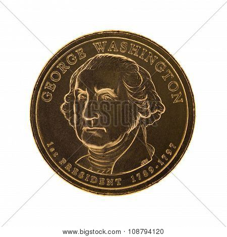George Washington Presidential Dollar coin