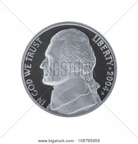 Thomas Jefferson 5 cents