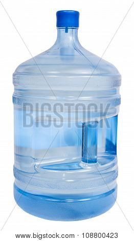 Closed 5 Gallon Plastic Bottle With Drinking Water