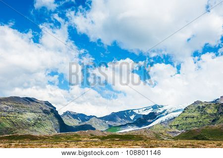 Beautiful Landscape With Mountain View