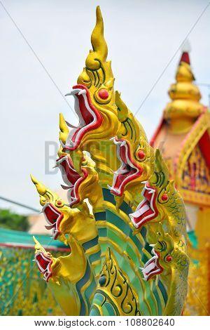 Naga statue decoration