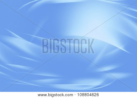 Curved lines blue tone background