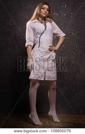 Sexy Pretty Young Nurse
