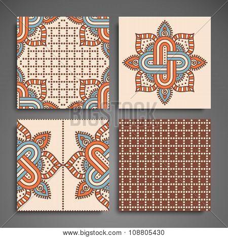 Mandala in ethnic style