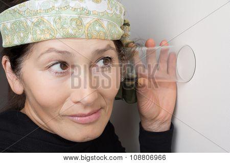 Woman overhears
