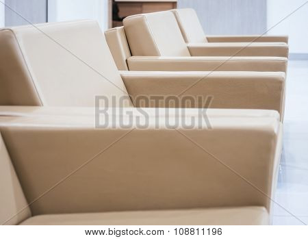 Seats In Waiting Room Area