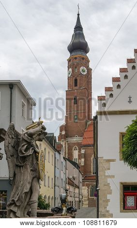 Basilica Of St. Jacob, Straubing, Germany