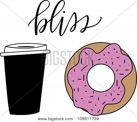 Coffee and Donut Bliss
