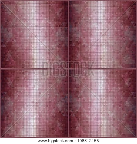 mosaic red background