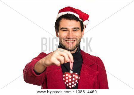 Young Happy Santa