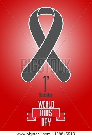 Vector World Aids Day Design Concept