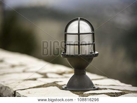 Retro Classic Style Street Electric Iron Lamp
