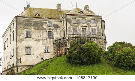 Old Stone Gothic Castle Palace King Residence