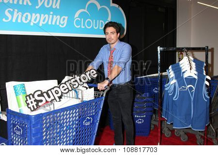 LOS ANGELES - NOV 17:  Ben Feldman at the Press Junket For NBC's