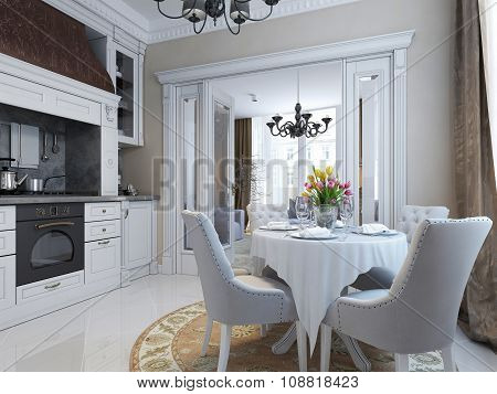 Kitchen Classical Style