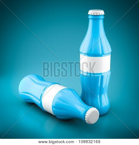 Bottles Of Cola Soda