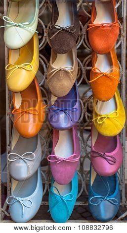 Colorful Handmade Italian Shoes