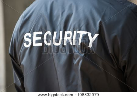 Security Guard Jacket