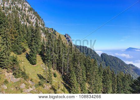 View On Mt. Pilatus