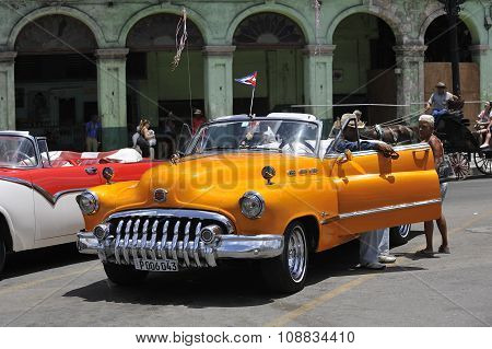 Old vintage cars of Cuba.