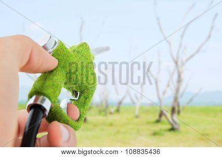 green fuel nozzle,