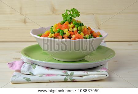 Healthy Steamed Vegetables
