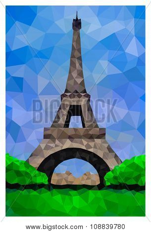 Polygonal Eiffel Tower