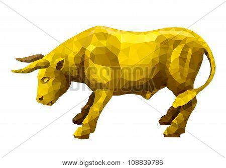 Polygonal Golden Bull