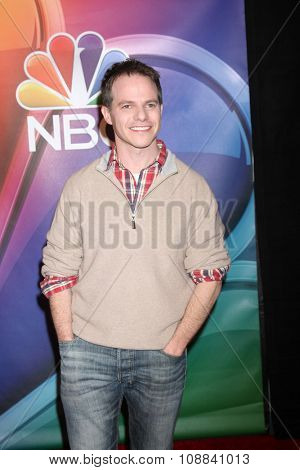 LOS ANGELES - NOV 17:  Justin Spitzer at the Press Junket For NBC's