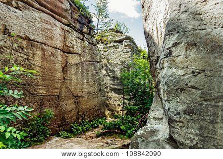 rocks stone town