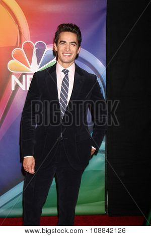 LOS ANGELES - NOV 17:  Jose Moreno Brooks at the Press Junket For NBC's
