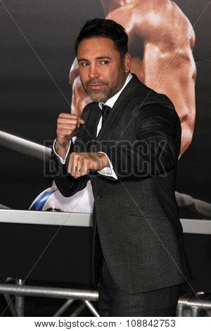 LOS ANGELES - NOV 19:  Oscar de la Hoya at the