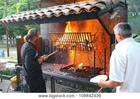 A Giant Barbecue