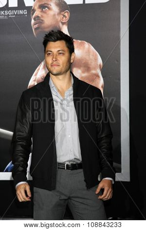 LOS ANGELES - NOV 19:  Blair Redford at the